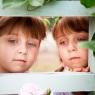 bliźniaczki portret