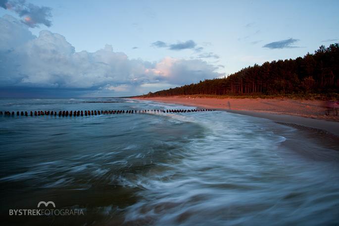 plaża w Chłopach