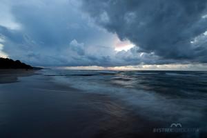 morze nocą