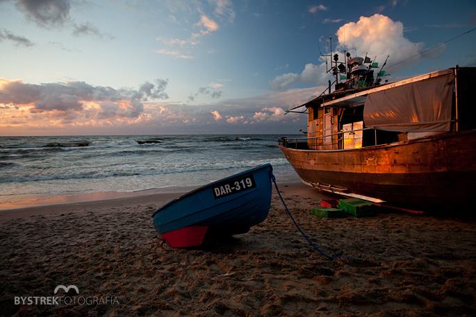 mały kuter rybacki