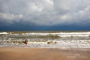 chłopiec i morze