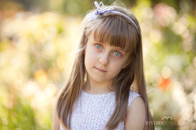 dziewczynka portret